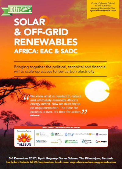 Thumbnail for Solar & Off-Grid Renewables Africa - Event Brochure