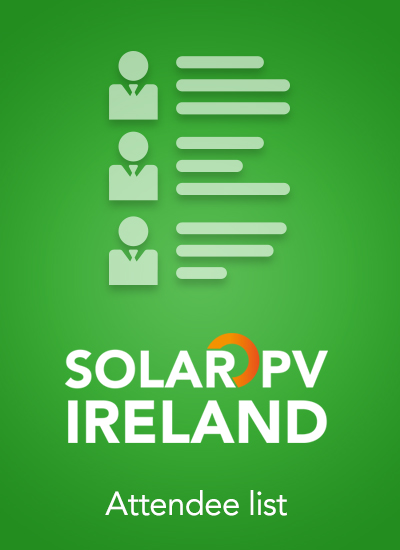 Thumbnail for Solar PV Ireland 2016 - Attendee List