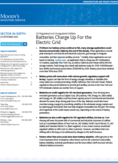 Thumbnail for Batteries Charge Up for the Electric Grid