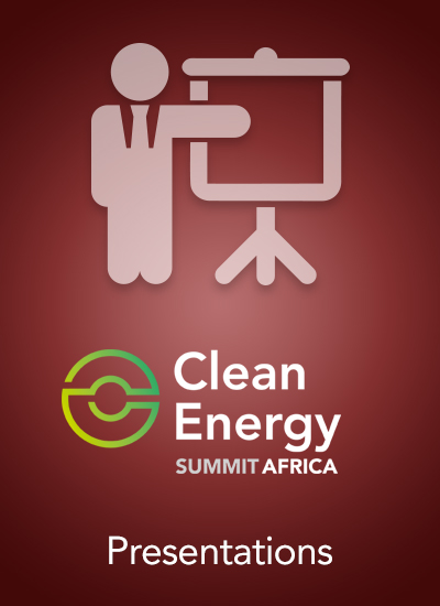 Thumbnail for Clean Energy Summit Africa 2017 - Speaker Presentations