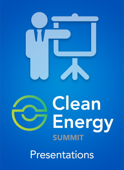 Thumbnail for Clean Energy Summit 2016 - Speaker Presentations