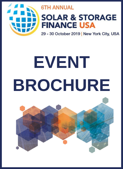 Thumbnail for Solar & Storage Finance USA 2019 Event Brochure