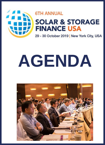 Thumbnail for Solar & Storage Finance USA 2019 Agenda