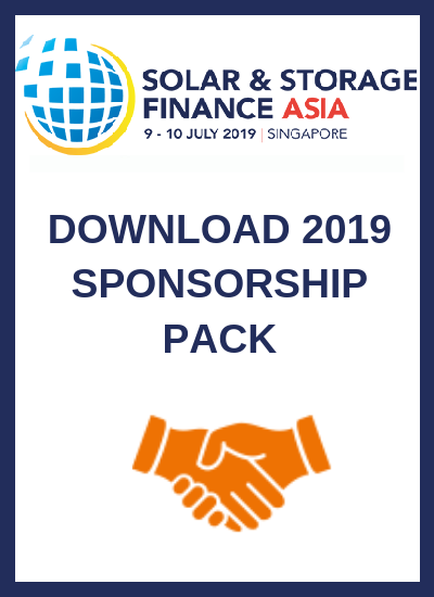 Thumbnail for Solar & Storage Finance Asia 2019 | Sponsorship Pack