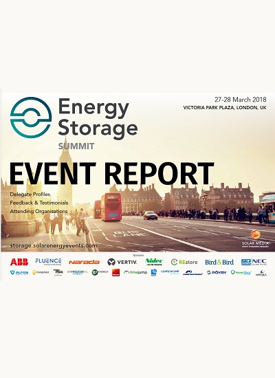 Thumbnail for Post Event Report - Energy Storage Summit 2018