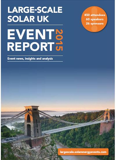 Thumbnail for Event Report - Large-Scale Solar UK 2015