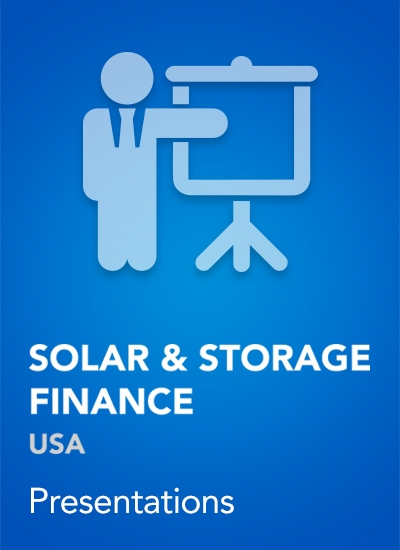 Thumbnail for Speaker Presentations - Solar & Storage Finance USA 2017