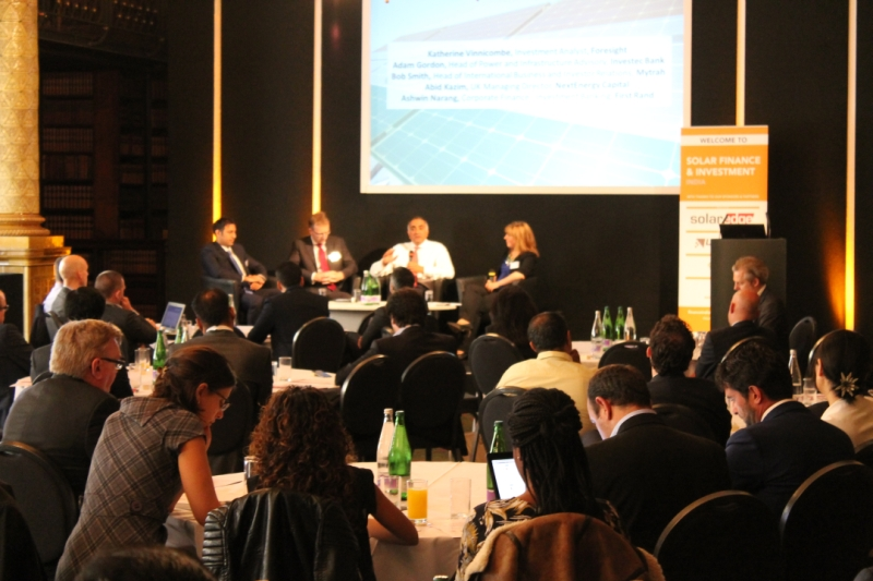 Solar Finance & Investment India Conference (London, June 2016)