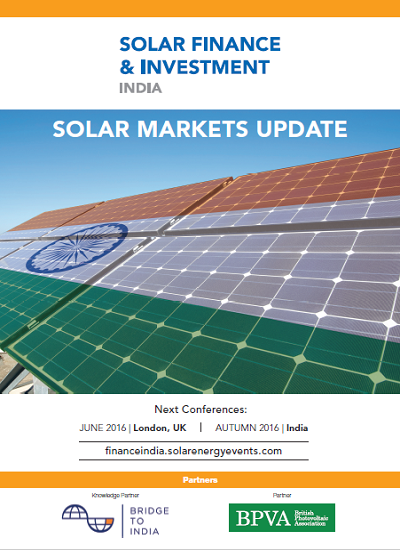 Thumbnail for Solar Market Update - India (Q1 2016)