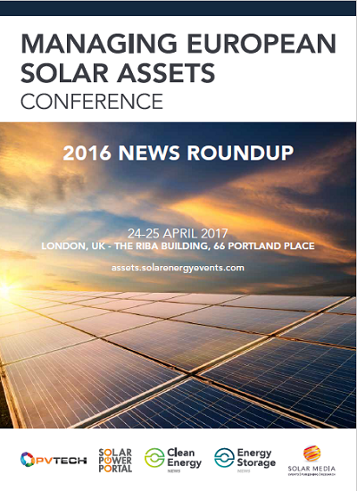 Thumbnail for Managing European Solar Assets - 2016 NEWS ROUNDUP