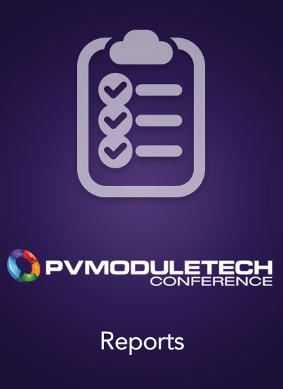 Thumbnail for Post Event Report - PVModuleTech 2018