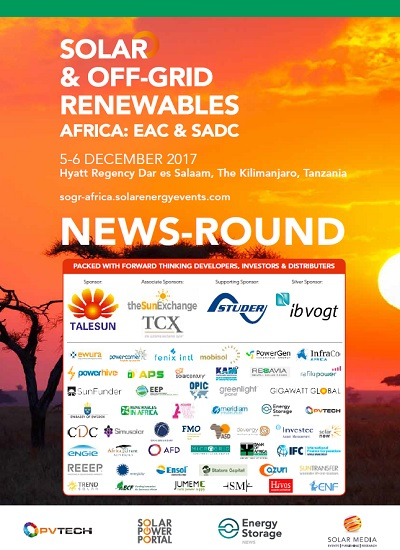 Thumbnail for African Solar News Round-Up - 2017
