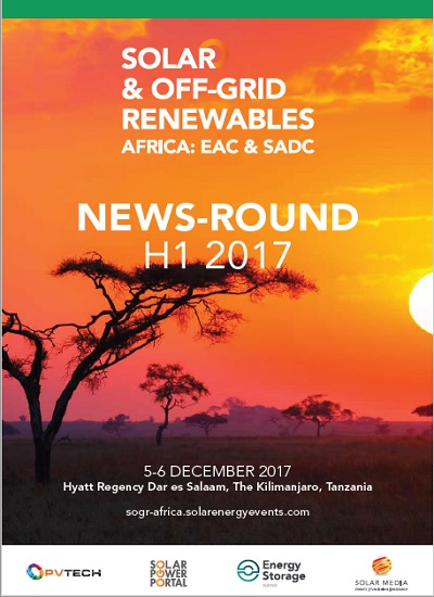 Thumbnail for African Solar News Round-Up - H1 2017