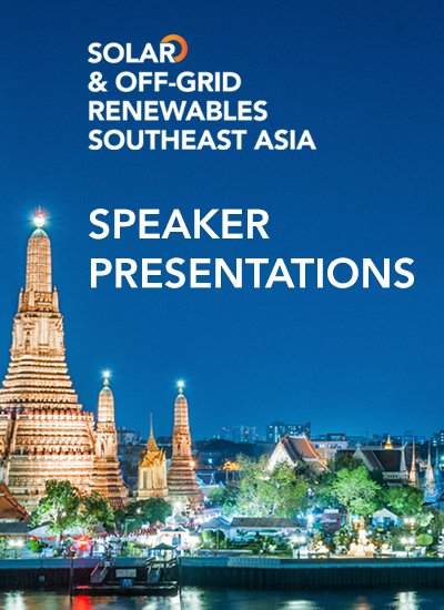 Thumbnail for Speaker Presentations - Solar & Off-Grid Renewables South East Asia 2015