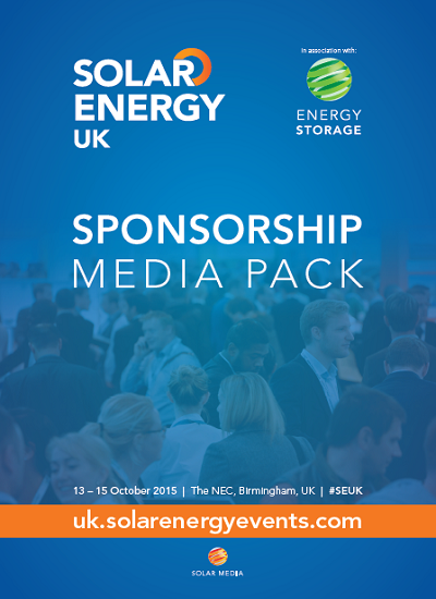 Thumbnail for Solar Energy UK - Sponsorship Media Pack