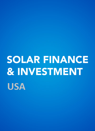 Thumbnail for Solar Finance & Investment USA 2015 - Conference resources