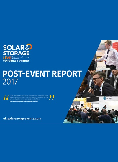 Thumbnail for Post Event Report - Solar & Storage Live 2017