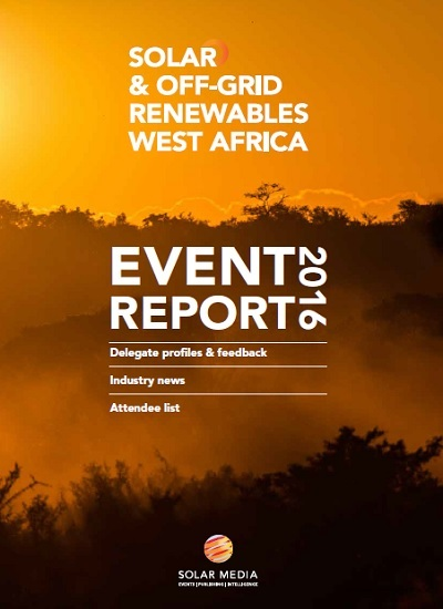 Thumbnail for 2016 Event Report - Solar and Offgrid Renewables West Africa