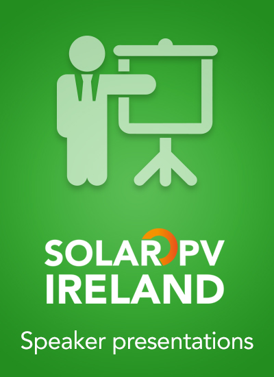 Thumbnail for Solar PV Ireland - Speaker Presentations