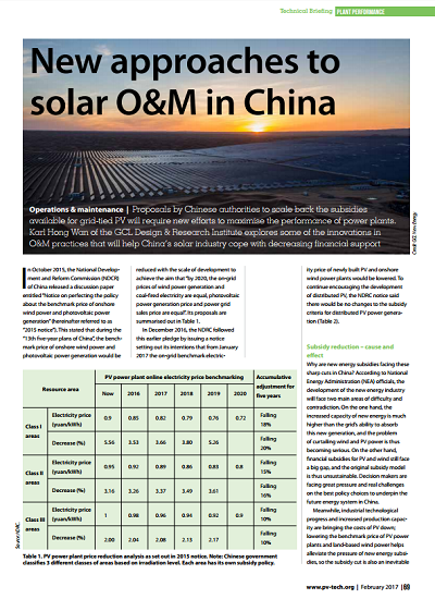 Thumbnail for New approaches to solar O&M in China