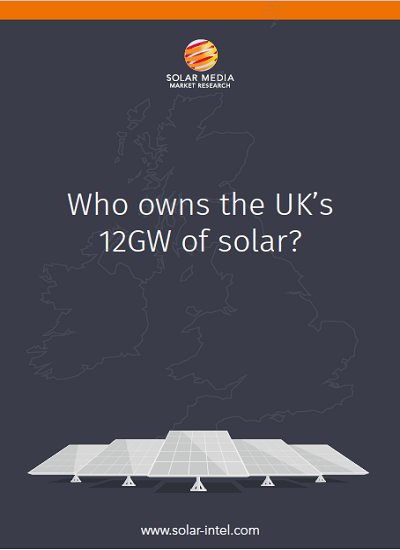 Thumbnail for Who owns the UK's 12GW of Solar PV