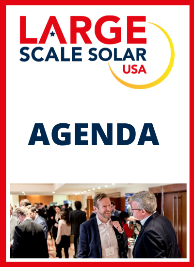 Thumbnail for Large Scale Solar USA, Agenda