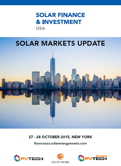 Thumbnail for Solar Market Update - USA (first 6 months of 2015)