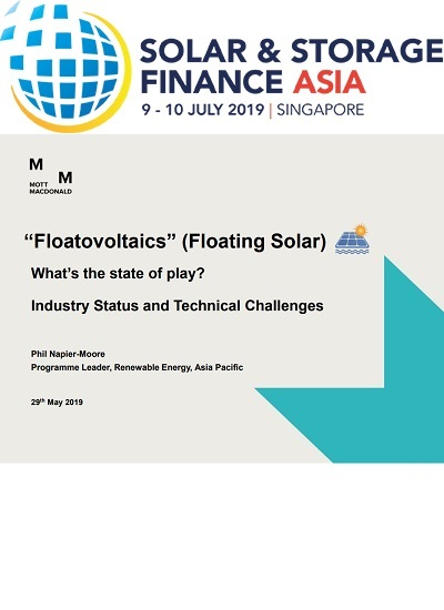 Thumbnail for WEBINAR: Floatovoltaics (Floating Solar) – the state of play and technical challenges