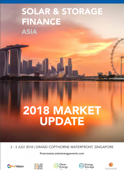 Thumbnail for 2018 Market Update - Solar and Storage Finance Asia