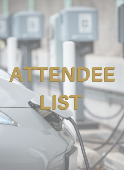Thumbnail for EV Infrastructure Summit - Attendee List Download