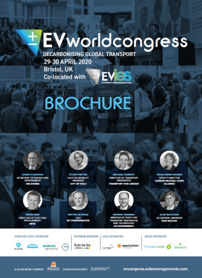 Thumbnail for The EV World Congress Brochure