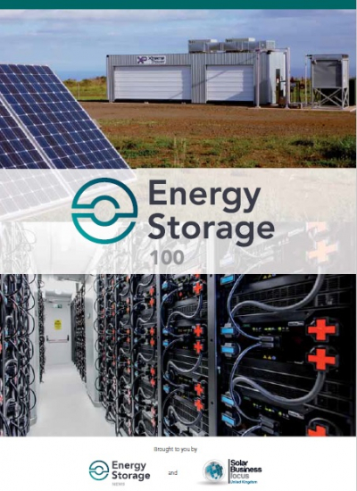 Thumbnail for Energy Storage Summit - The Energy Storage 100