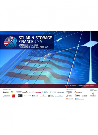 Thumbnail for Solar & Storage Finance USA 2018 Brochure