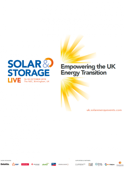 Thumbnail for Solar & Storage Live 2018 Brochure