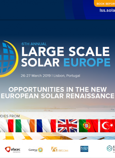 Thumbnail for Large Scale Solar Europe 2019 - Brochure Download