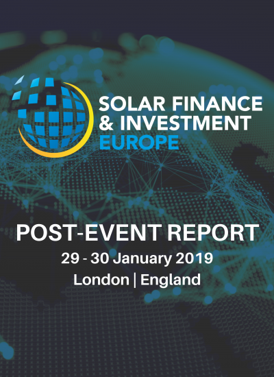 Thumbnail for Solar Finance & Investment Europe 2019 - Post-Event Report