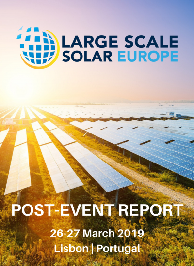 Thumbnail for Large Scale Solar Europe 2019 - Post Event Report