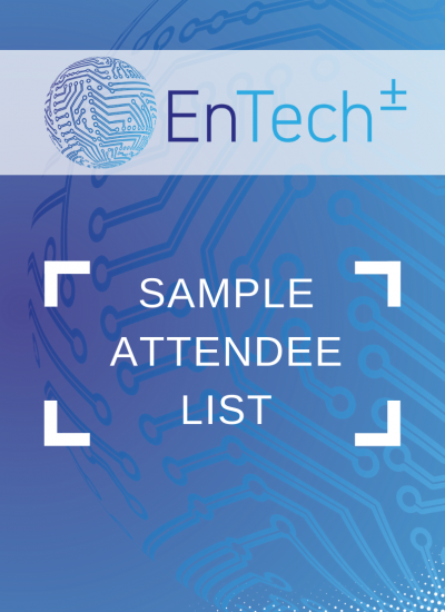 Thumbnail for EnTech - Sample Attendee List