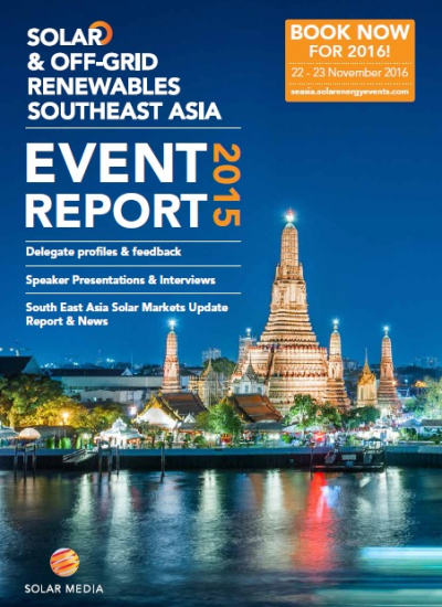 Thumbnail for Solar & Off-Grid Renewables Southeast Asia 2015 Event Report