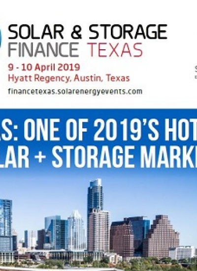 Thumbnail for TEXAS: ONE OF 2019'S HOTTEST SOLAR + STORAGE MARKETS