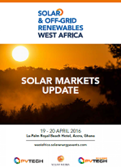 Thumbnail for Solar & Off Grid Renewables West Africa - Solar Market Updates