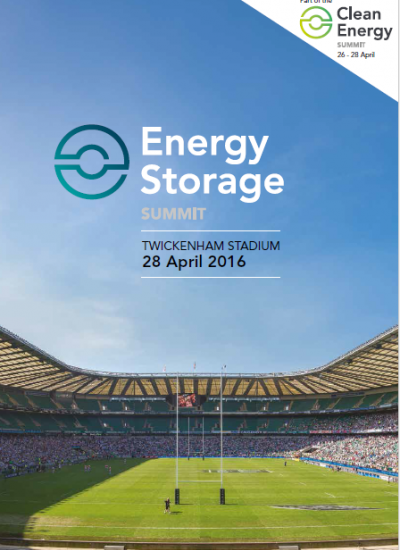 Thumbnail for Energy Storage Summit 2016 - Sponsorship Pack