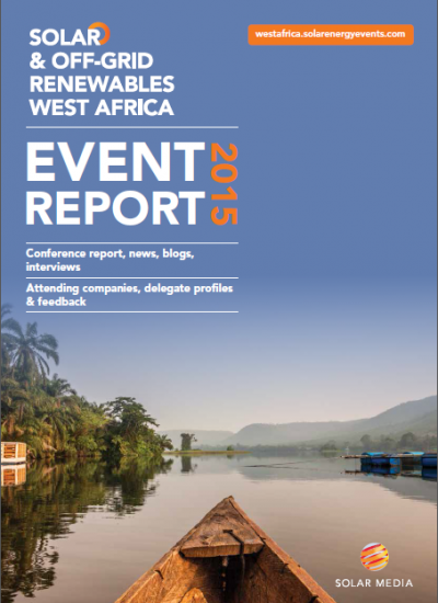Thumbnail for Event report -  Solar & Off-Grid Renewables West Africa conference 2015